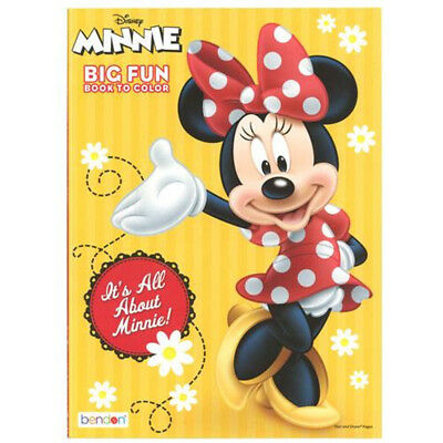 Minnie Mouse Jumbo Coloring Book