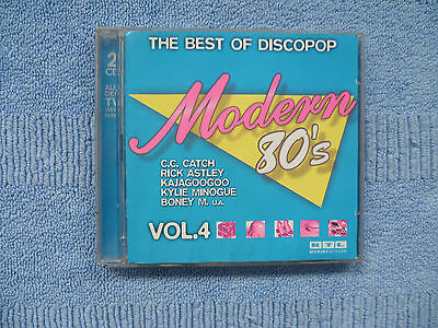MODERN  80's  -  THE  BEST  OF  DISCO POP   Vol. 4  -  DoCD