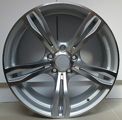 """Set Of 4 - 19"""" Staggered Bmw M5 M6 Style Alloy Wheels 1 2 3 4 5 Series"""