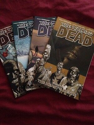 The Walking Dead Volumes 1 - 4 Graphic Novels