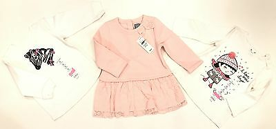 Baby Girls 3pc Lot New Clothing Size 12M (GAP/Jumping Beans)