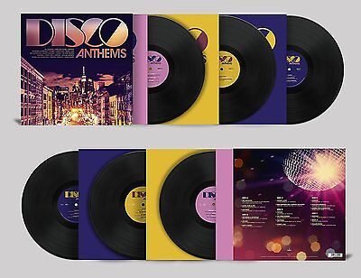 Various Artists - Disco Anthems (2017)  180g Vinyl 3LP  NEW  *Release 14th July*
