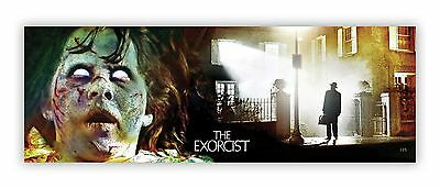 THE EXORCIST. Horror movie poster art print. Signed. William Friedkin