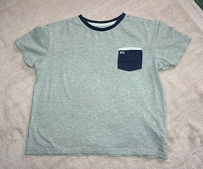 Boys' Grey & Green French Connection Short Sleeved T-Shirt Aged 12 - 13 Years