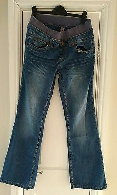 ladies new look maternity jeans size 10