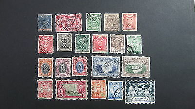 Rhodesia/ S. Rhodesia selection of 21 used good stamps QV to KG6 as shown