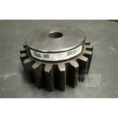 "Martin S420 4DP 2"" Face Steel Spur Gear, 20 Teeth, 5.5"" OD, 1-1/8"" Bore"