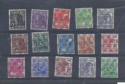 Germany stamps. 1948 Allied Occupation mainly MNH lot.  See desc. (Z330)