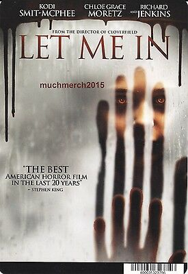 """LET ME IN Movie Placard from Video Rental Store 5.5"""" x 8"""""""