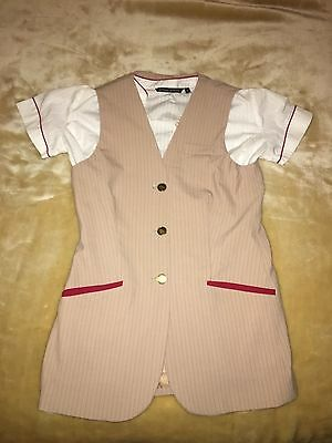Emirates Cabin Crew Uniform Blouse and Tabard