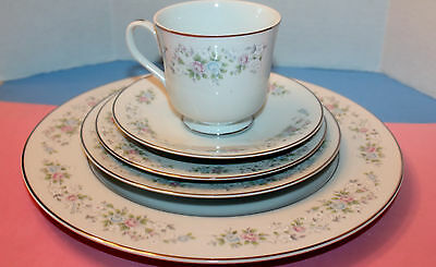 CARLTON CORSAGE China 481 Japan 5 Pc Place Setting(s)