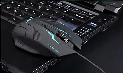 1600 DPI 3 Button Optical USB Wired Gaming Mouse Mice For PC Laptop HIGH QUALITY