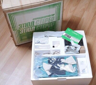 FED Etude Stereo Slide Projector for FED Setereo and else *one on eBay*