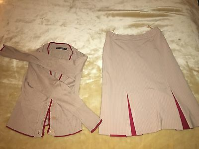 Emirates Cabin Crew Uniform Skirt and Cardigan