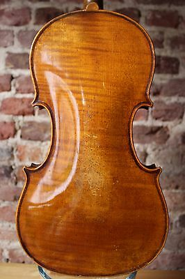 """A Very Beautiful Old Vintage Violin Labelled """"Nicolaus Amatus"""" for Restoration !"""