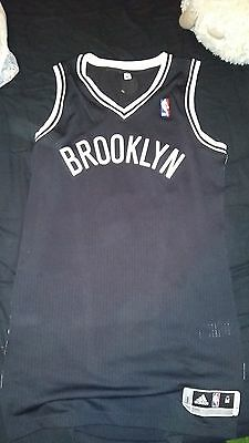 Authentic jersey nba size M, camiseta autentica brooklyn nets
