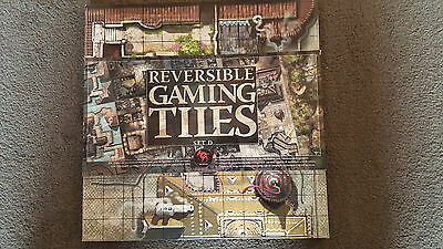 Rackham Reversible Gaming Tiles Set D  - Cadwallon Hybrid, Confrontation - RARE