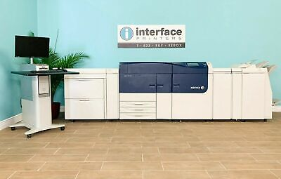 Xerox Versant 80 Press Scan Finisher With Oversized Trays 80Ppm Only 39K Copies!