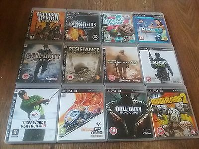 12 Game Bargain  Bundle For Sony Ps3!!!!