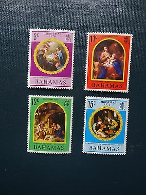 Bahamas 1970 SG 354-357 Christmas  Set  MM
