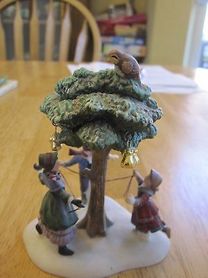 Dept. 56 Dickens Village Twelve Days Of Christmas #1 Partridge In A Pear Tree