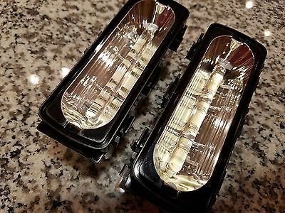Pair Whelen Lin6 Amber Pods Brightest Led Flat New Style Mint Condition Liberty