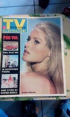 tv sorrisi e canzoni ursula andress