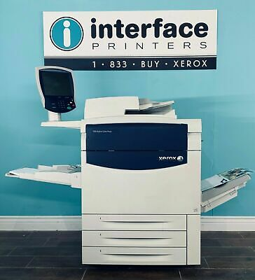 Xerox 770 Digital Production Press W/ Print Server @ 467K Copies