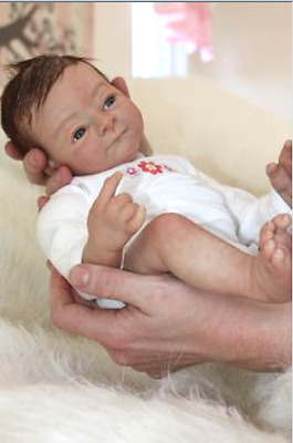 "KATIE by Toby Morgan ~ 18 ""  Reborn Doll KIT~  ~ SOLD OUT ~ COA !!!"