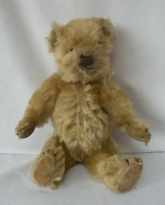 "PETAL - ADORABLE OLD / VINTAGE 1930's CHIILTERN MOHAIR TEDDY BEAR 12"" TALL"