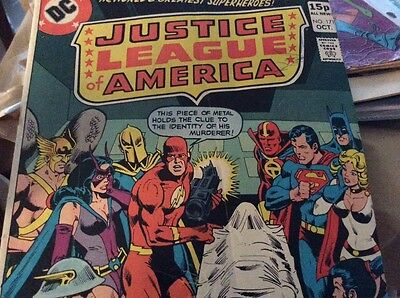 Justice League of America 171 1979 Power Girl British cover price DC Comics
