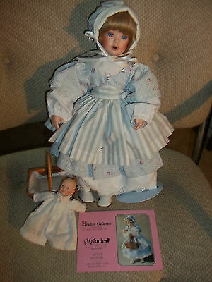 Melanie Hush Little Baby Porcelain Doll Paradise Galleries Musical Euc W Baby