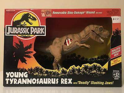 1993 Jurassic Park Series 1 - Young T-Rex - Brand New MISB