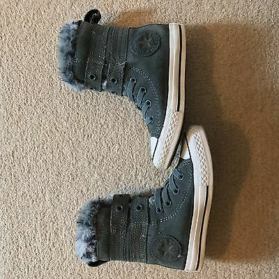 Infant Girls Converse Boots.