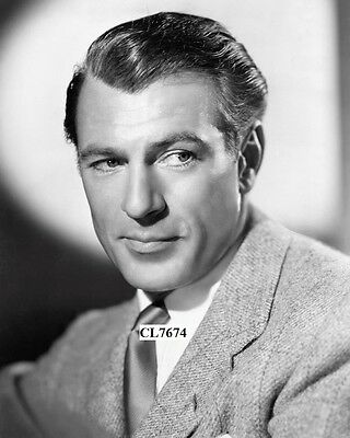 Gary Cooper in a Publicity Portrait for the Movie 'The Real Glory' Photo