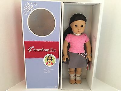 American Girl MYAG Doll, Lt. Skin, Black/Brown Hair, Brown Eyes  #30  NEW in Box