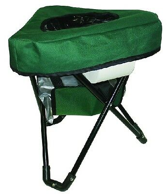 Reliance Tri-To-Go Folding Camping Chair / Portable Toilet 9900-10