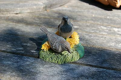 House Sparrow From the Garden bird collection by Danbury mint