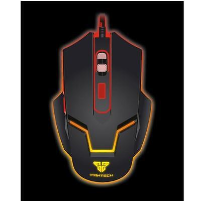 Adjustable 2400DPI Optical Wired Gaming Game Mice Mouse For Laptop PC