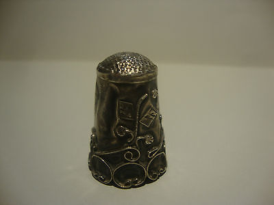 Sterling  Silver Thimble 925