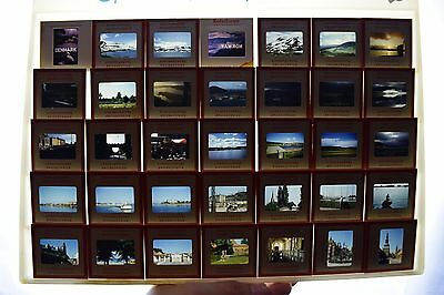 Lot of 35 Vtg Kodachrome Slide 35mm 1950s-60s Norway