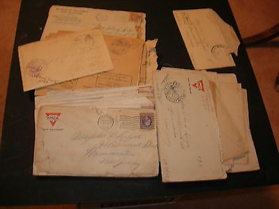 WW1 Soldier Letters Fort Dix, England, France, Too Many to count