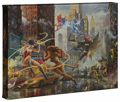 Thomas Kinkade DC The Women of DC 10 x 14 Gallery Wrap Canvas