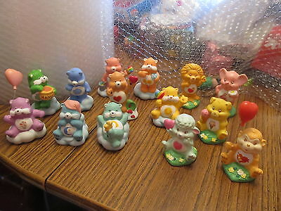 Care Bears & Cousins 1984/85 VINTAGE lot of 14 ceramic figurines