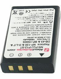 AboutBatteries - Batterie pour TOSHIBA CAMILEO H30, 3.7V, [327508] NEUF