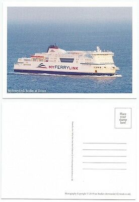 Ferry MyFerryLink (My Ferry Link) Rodin at Dover [Postcard][Ref F2]