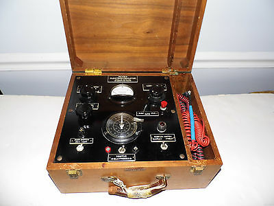 Vintage Reiter Electrostimulator RC47D No 402 Medical Device Quack Shock Therapy