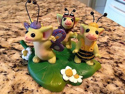Whimsical World Of Pocket Dragons Garden Critters 2001 Real Musgrave