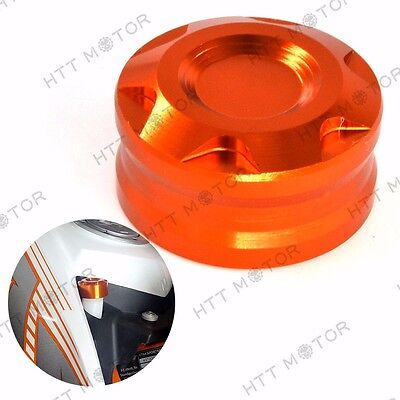 For KTM DUKE 125 200 390 RC Motorcycle CNC Radiator Water Pipe Cap Cover