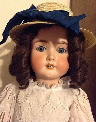 Antique German Doll 28 Inches Tall Catterfelder Puppenfabrik 91